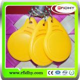 RFID Keyfob/ABS Nfc Keyfob with Lf/Hf Chip