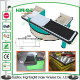Electric Motor Supermarket Powder Coated Checkout Counter