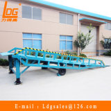 6 Ton Mobile Hydraulic Loading Ramp (DCQY6-0.8)