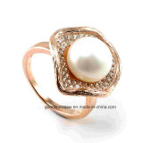 925 Silver Ring with Pearl (IT1R001)