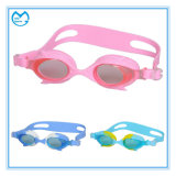 Mirrored PC Prescription Sports Eyewear Swimming Goggles for Children