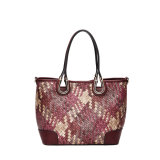 European Style Retro Woven Shoulder Bags (MBNO039054)