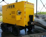 Silenced Diesel Trash Water Pump with Trailer