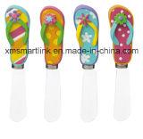 Polyresin Flip Flop Handle Decoration Butter Spreader Kitchen Gadgets