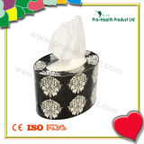 Top Hot Selling Oval Shape Wooden Decorated Tissue Boxes