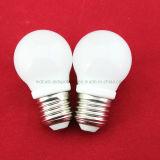 4W E27 Ceramic Warm White LED Gls Ball Bulb (G45)