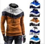 2016 Wholesale Mens Custom Embroidery Cotton Fitness Hoodie Men