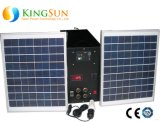 20W Small Solar PV Lighting System/Solar Power System for Home