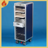 4 Wheels Aluminum Inflight Airplane Aircraft Catering Cart