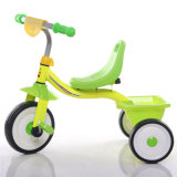 Steel Frame 3 Wheels Children Bike with Rear Basket
