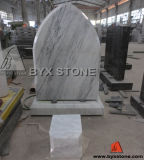British Style Marble Classic Headstone / Tombstone