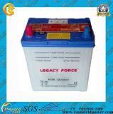 JIS Standard 12V36ah Dry Charged Auto Battery (NS40Z)