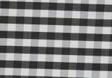 Black/White Checks Twill CVC Yarn Dyed Fabric Shirting
