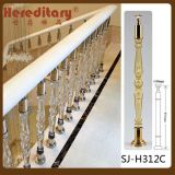Modern Villa Crystal Balustrade of Staircase/Acrylic Staircase Balustrade