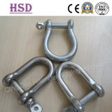 European D Shackle, Bow Shackle, Stainless Steel 316, Nickle 10%-12%