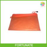 Vinyl PVC Documents Mesh Zipper Holder Bag File Bag