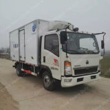 Chinese Sinotruck 4X2 Refrigeration Truck/Refrigerated Van for Sale