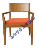 Restaurant Dining Coffee Leisure Living Furniture Fabric Wooden Chair