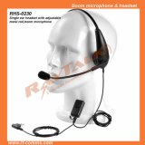 Two Way Radio Light Weight Headset with Large Ptt (RHS-1030)
