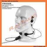 Two Way Radio G Earhook Earpiece Throat Microphone
