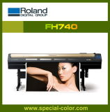 Roland Fh740 Plotter Print Machine with Gold Dx7