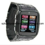 The Cool Thin Stainless Steel Watch Mobile Phone Touch Screen