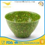 "Cheap Eco Promotion 6"" Reusable Custom Green Plastic Bowl"