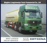 HOWO 30000L Tanker Truck / HOWO 8X4 Fuel Tank Truck