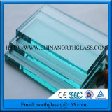 Flat Curved Shape 8mm Clear Float Glass