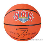 Official Size Classical Design Rubber Basketball
