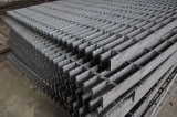 Black 6000*905mm Serrated Steel Bar Grating