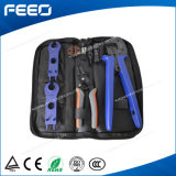 Portable Wire Tool Kit Set Armoured Set for Mc4 Connector, for Photovoltaic, for Solar Panel DIY, 2.0mm2/4.0mm2/6.0mm2 14AWG/12AWG/10AWG