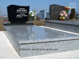Caved Granite Tombstone Headstone with Factory Price