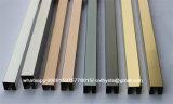 Custom 304 Stainless Steel Bronze Floor Trim with Brush Surface