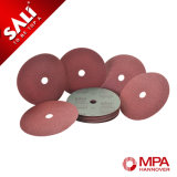 Sali Wholesale Aluminum Oxide Fiber Disc for Polishing