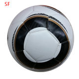 Machine Stitched Shiny PVC Football