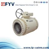 API 6D Three Pieces Trunnion Mounted Ball Valves