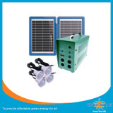 Newly 4PCS Solar Light Kit, Solar LED Lantern with 5m Cable, Could Charger Mobile Phone