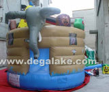 Inflatable Animal Bounce House, Mini Bouncy Castle for Kids
