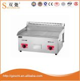 Gas Griddle Gas Lava Rock Grill Kitchen Equipment