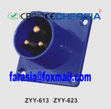 16A IP44 Ce Certificated 3p Industrial Plug for Wall Mounting