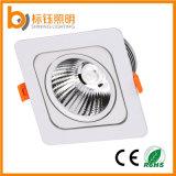 Manufacturer High Quality New Ce RoHS AC85-265V Square 10W COB Recessed Ceiling LED Light