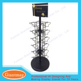 Metal 4 Sides Shopping Mall Gift Card Wholesale Display Racks