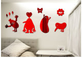 Children 3D Picture for Home Decoration Acrylic Mirror
