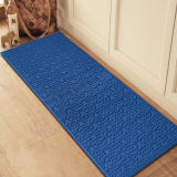 Embossed/Emboss Mould/Moulded Pattern Anti Slip Oil Water Resistant Rubber PVC Backed Door Floor Kitchen Carpets Mats Rugs