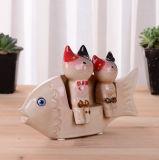 Ceramic Fish Figurine Home Decoration