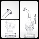 Glass Smoking Pipe Faberge Egg Water Pipe Recycler Pipes Oil Rig
