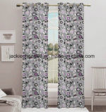 Printed Blackout Curtain Window Panel