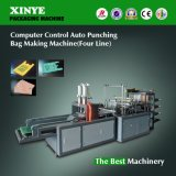 Auto Punching T Shirt Plastic Film Bag Making Machine Price