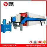 Automatic Filter Press with Membrane Plate for Sludge Dewatering
